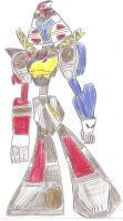 N.Megazord Re-Animated by bigtimbears