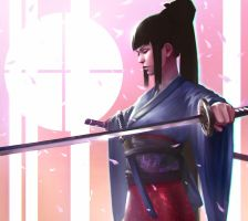 Samurai by DigitalSashimi