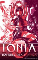 Valoran War Posters: Ionia 2015 by a-bad-idea