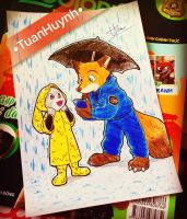 Zootopia : Does it has real weather in Zootopia ? by doraemonbasil