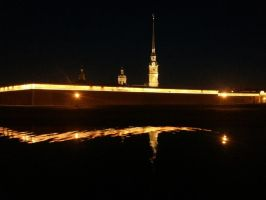 Saint-Petersburg. Peter and Paul Fortress. by timurchan