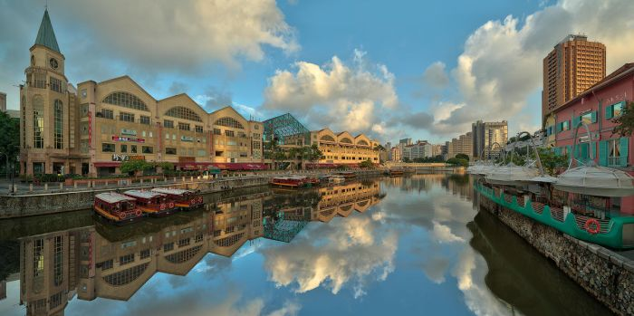 Riverside Point by Draken413o