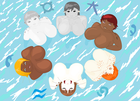 Selkie Tribes by Rufina-Tomoyo