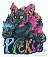 Badge for Pickle by Kitsune--Rin