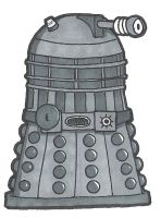 D is for Dalek by crpechonick