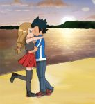 Coastline Memories (Amourshipping) by Imagine-A-Frenzy