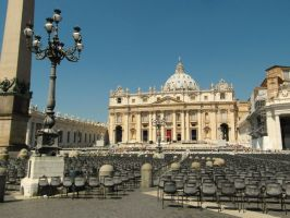 Rome - St Peters Basilica by PhilsPictures