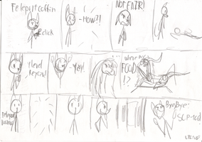 Sketch comic I did to Re-contian SCP-106 XD by LPS100