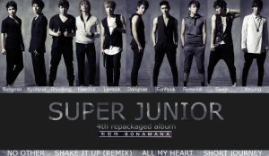 Super Junior 4th album repack by cooldmoon