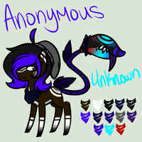 Anonymous and Unknown by Airi-draws-stuff