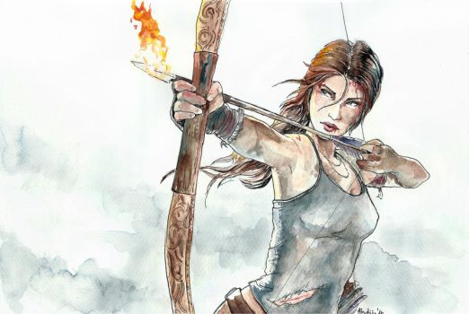Tomb Raider by Ines92