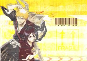 IchiRuki Wallpaper by preada58