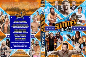 WWE SummerSlam 2013 DVD Cover V2 by Chirantha