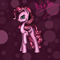 Pinkie Pie (fast drawing) by AliceKvartersson