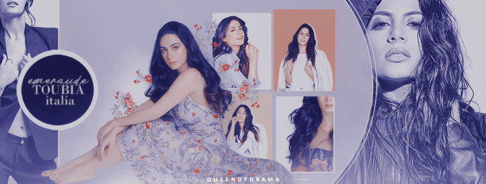Emeraude Toubia - Italia. [Timeline] by thequeen-ofdrama