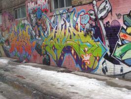 Graffiti Stock 02 by willconquers-stock