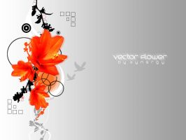 Vector Flower by vectorSynergy