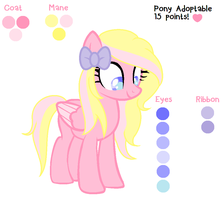 Pony Adoptable~(15 points!) OPEN by DerpyLuv123