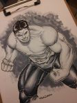 young hulk commmission with COPIC by Sajad126