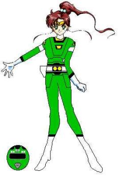 Jupiter Green Turbo Ranger by ShadowWolfZ
