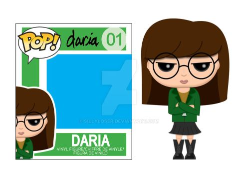 Daria POP Figure Fan Art by sillyloser