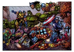 Avengers...for my Pa... by thesealord
