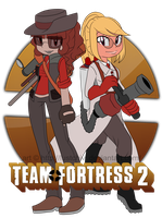 a la team fortress time by Lustchivi