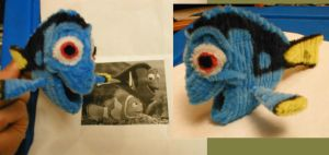 Pipe Cleaner Dory by fuzzymutt