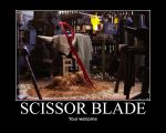 Man at Arms: Scissor Blade by Onikage108