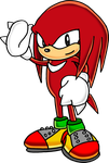 Classic Knuckles the Echidna by Tails19950