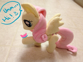 Fluttershy Plush 2 by Aleeart7