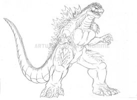 GODZILLA 39 98 by TITANOSAUR on DeviantArt