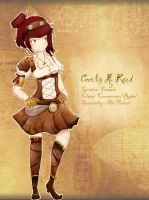 Design A Character Contest: Cecily M. Raid by vinylah