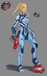 Zero Suit redesign by Kodachi-sama