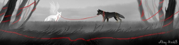 The red thread of fate by Akay-Reiko