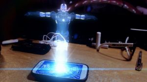 Iron Man Hologram | Adobe After Effects by ThePhilPhactor