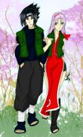 Happy Couple - Color by agrias
