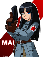 Agent Mai by rongs1234