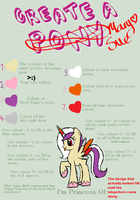 MLP Mary Sue Maker Meme   (XD) by TwilightthePony23