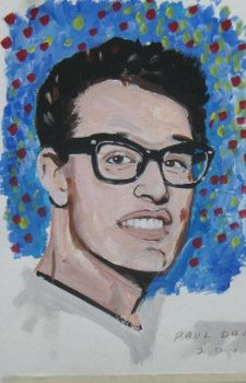 Buddy Holly by Paulstered
