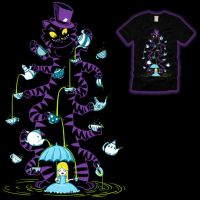 Woot Shirt - Mad Tea Party by fablefire