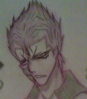 grimmjow ::outlining test:: by bleach-aholicX3