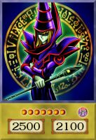 Dark Magician (Alternate Art) by PlayStationScience