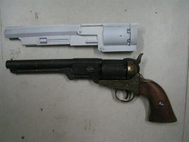 bioshock infinite hand cannon WIP by faustus70