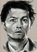 Castiel-Misha Collins by Kentcharm