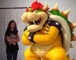 Bowser and I by SammiKoopa