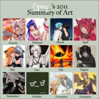 2011 Art Summary by atrueenglishman