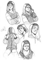 (Rokudai) - Aaron Expressions (HinoKit) by Destiny-Smasher