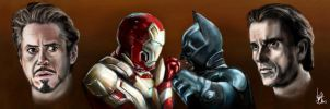 Stark Industries VS Wayne Enterprises by Vinnyjohn13