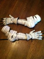 Aspen Tree Armor, Arms and Gauntlets by SavagePunkStudio